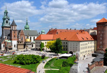 Kraków, wzgórze wawelskie