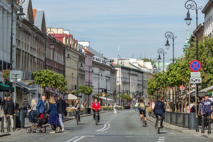 Warszawa, Trakt Królewski