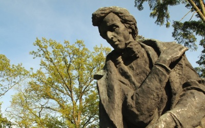 Frederic Chopin's monument