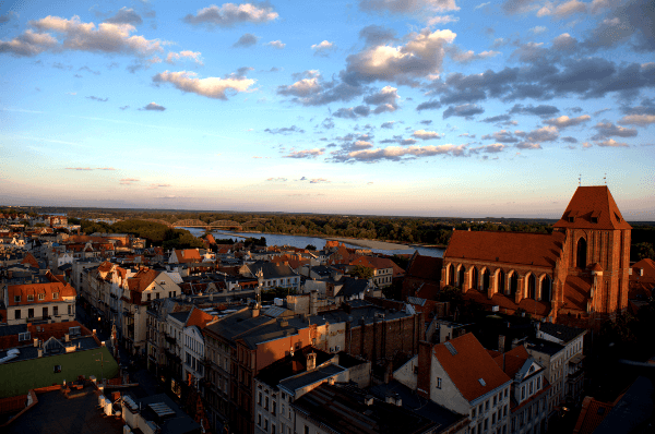 old town Torun AB Poland Travel