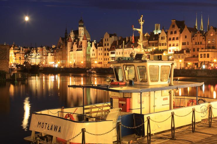 Gdańsk, nabrzeże Motławy