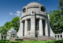 Łódź, cmentarz żydowski - Mauzoleum Poznańskiego