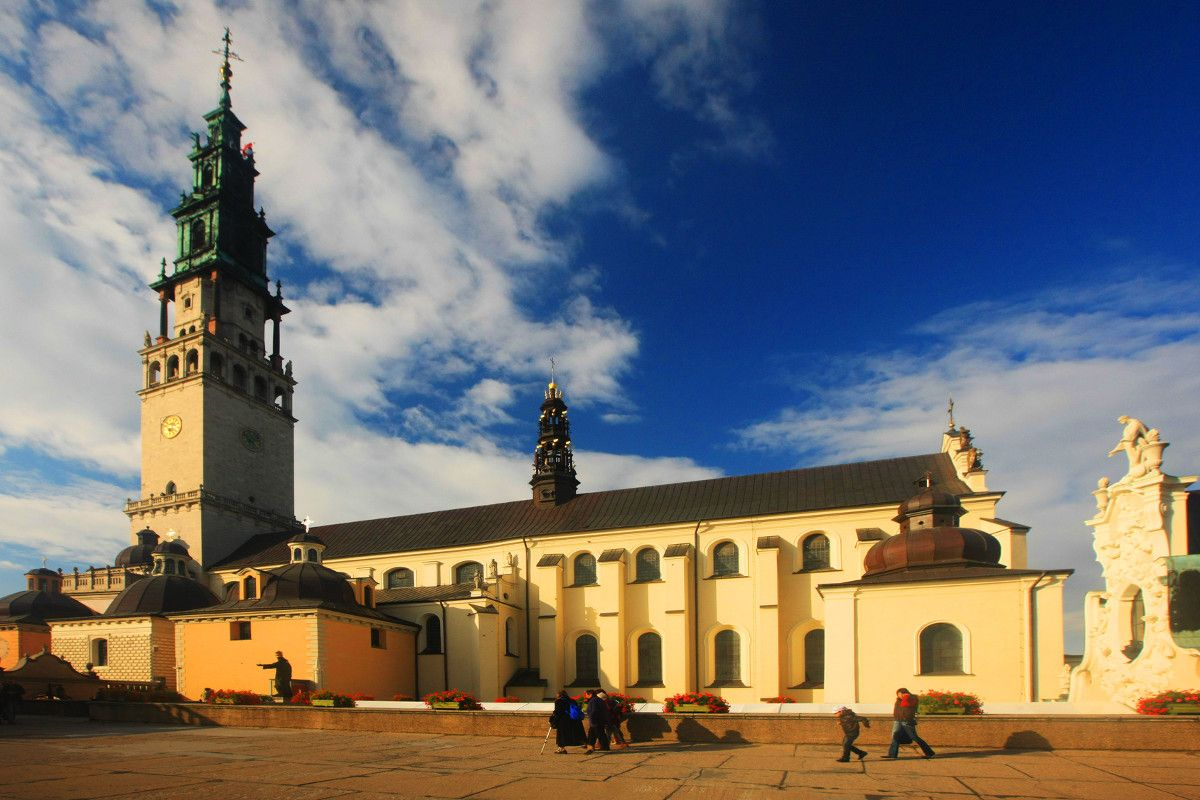Częstochowa, klasztor jasnogórski