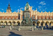Kraków, pomnik Mickiewicza